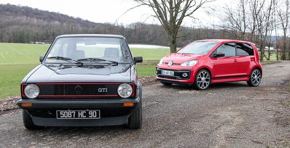 Comparatif GTI Up vs Golf