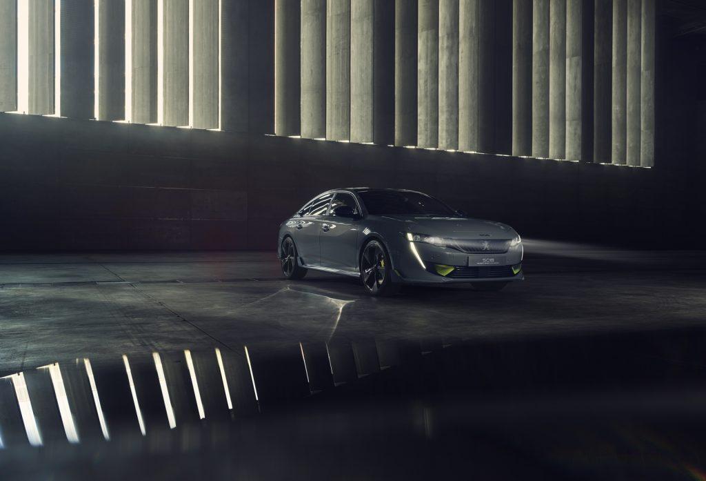 Concept 508 Peugeot Sport Engineered LNA 02