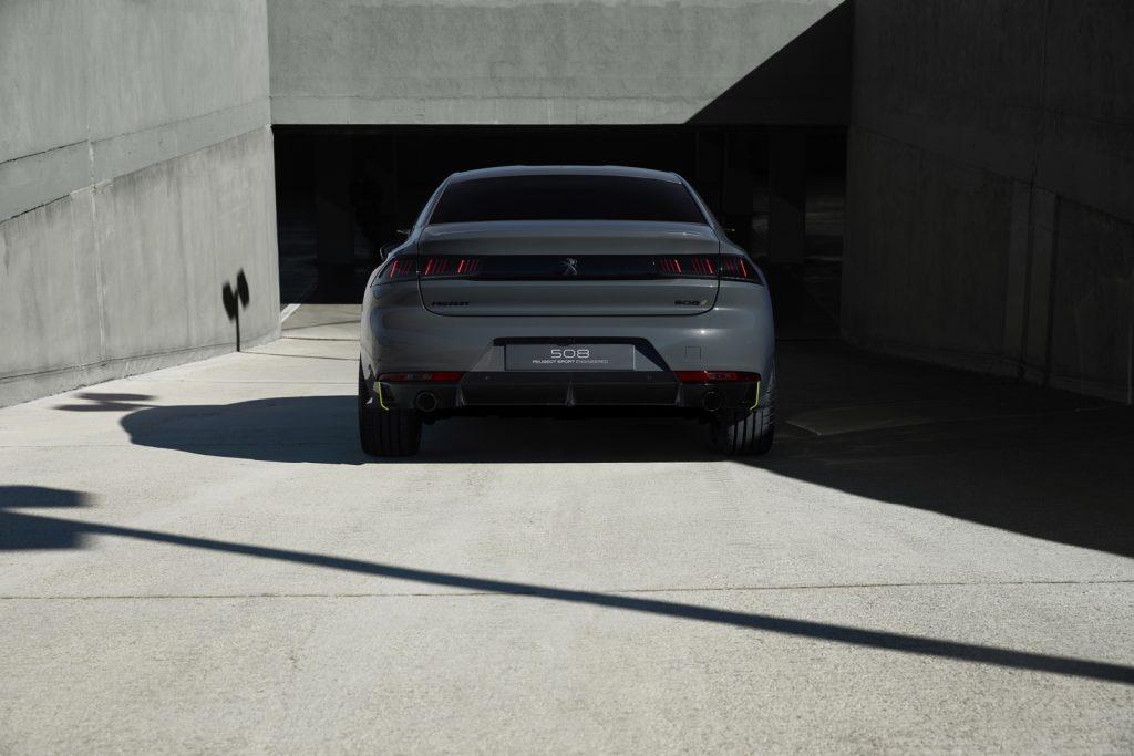 Concept 508 Peugeot Sport Engineered LNA 48