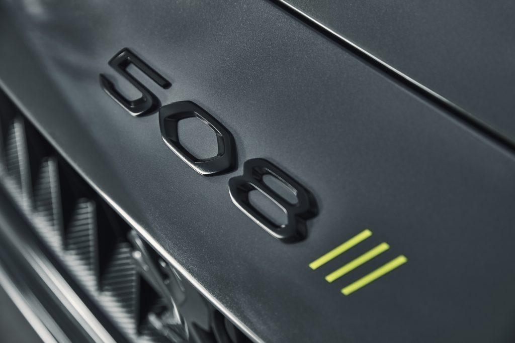 Concept 508 Peugeot Sport Engineered LNA 54
