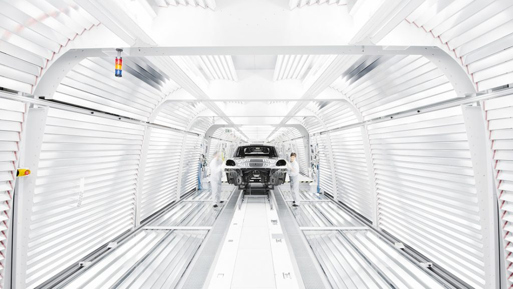 Porsche Macan Usine