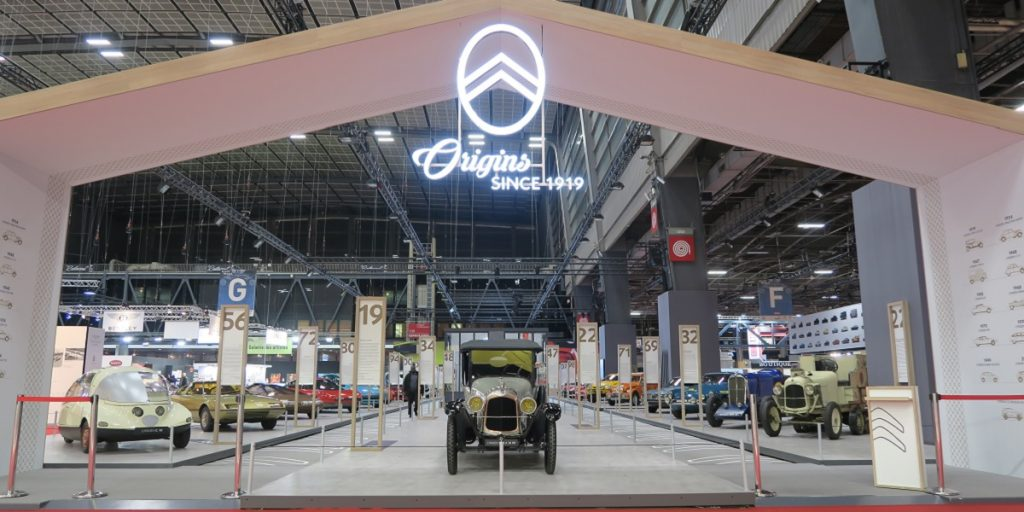 Retromobile 2019 Citroen