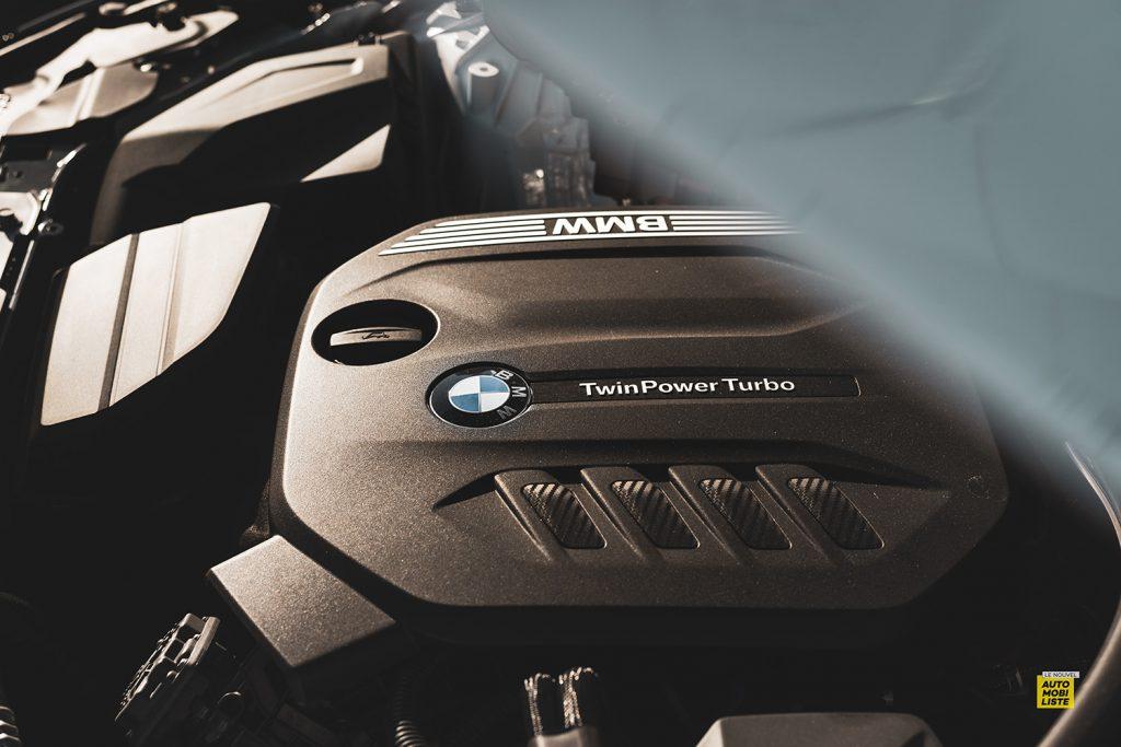 Essai bmw serie 3 320d MSport Luxury BVA8 detail bloc moteur