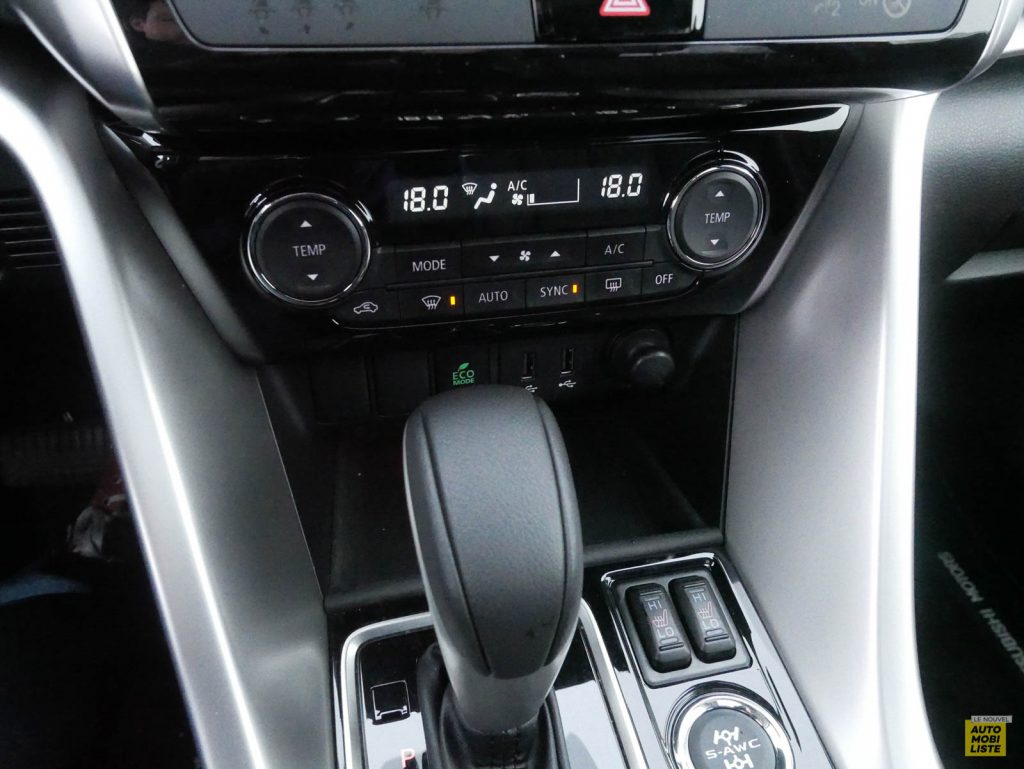 LNA 2018 Mitsubishi Eclipse Cross Interieur Details 17