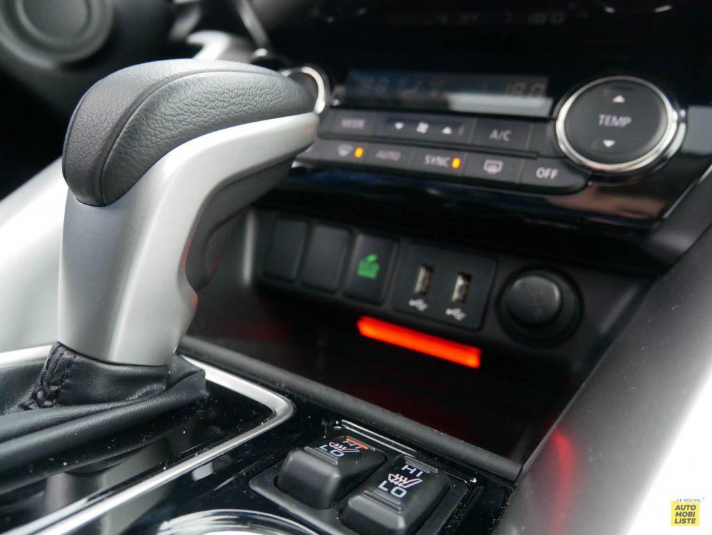 LNA 2018 Mitsubishi Eclipse Cross Interieur Details 21