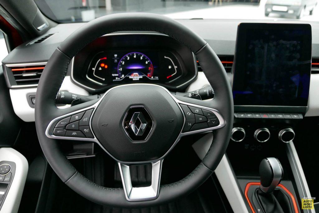 LNA 2019 Renault Clio V Intens Interieur 07