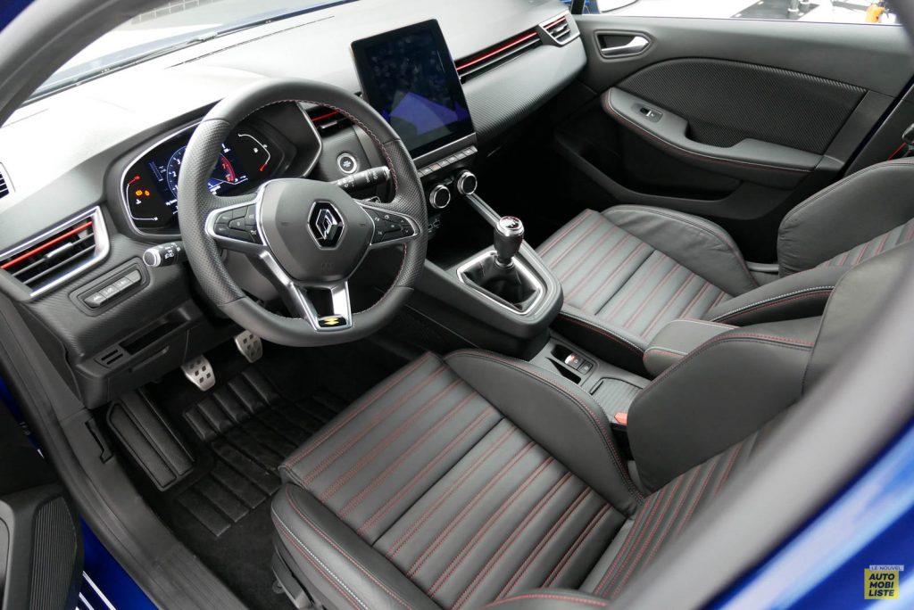 LNA 2019 Renault Clio V RS Line Interieur 03