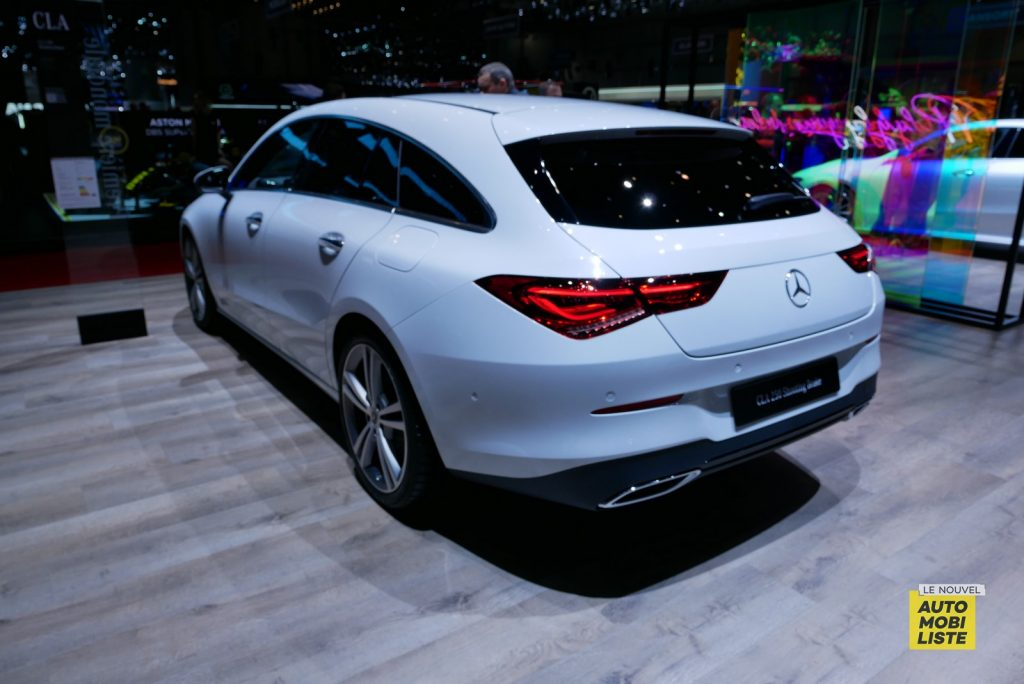 Mercedes Benz CLA Shooting Brake Geneva 2019 LNA GA 1