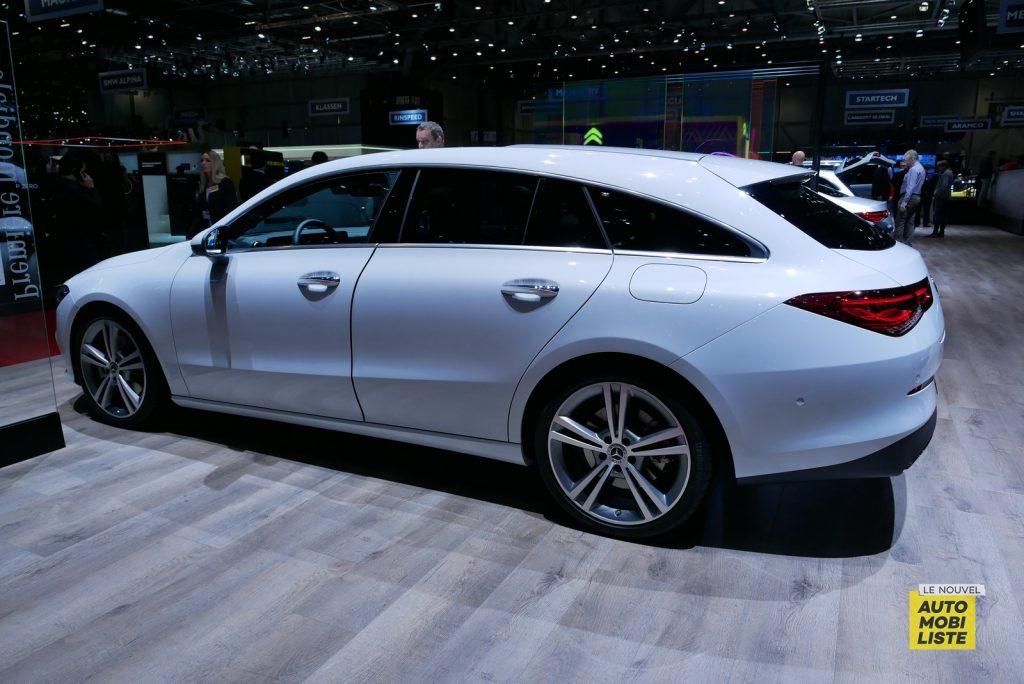 Mercedes Benz CLA Shooting Brake Geneva 2019 LNA GA 4