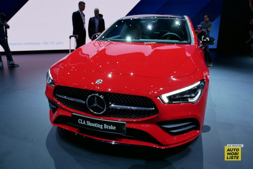 Mercedes Benz CLA Shooting Brake LNA GA Geneva 2019 10