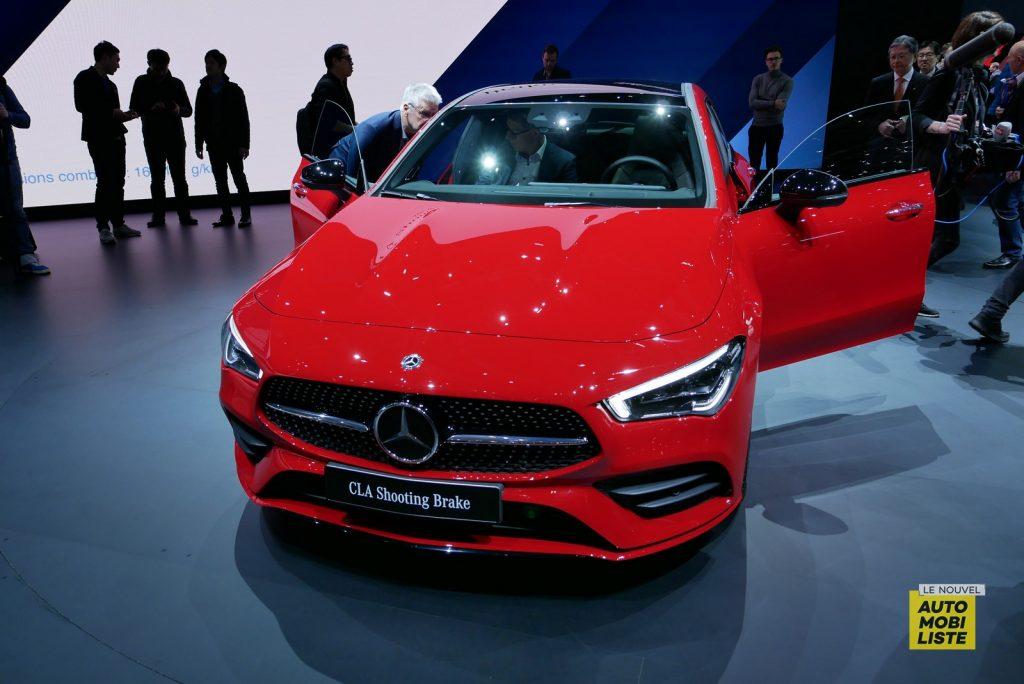 Mercedes Benz CLA Shooting Brake LNA GA Geneva 2019 2