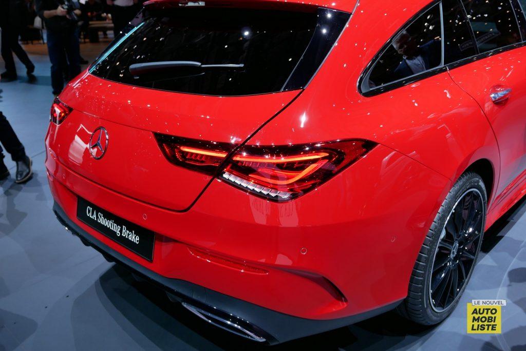 Mercedes Benz CLA Shooting Brake LNA GA Geneva 2019 4