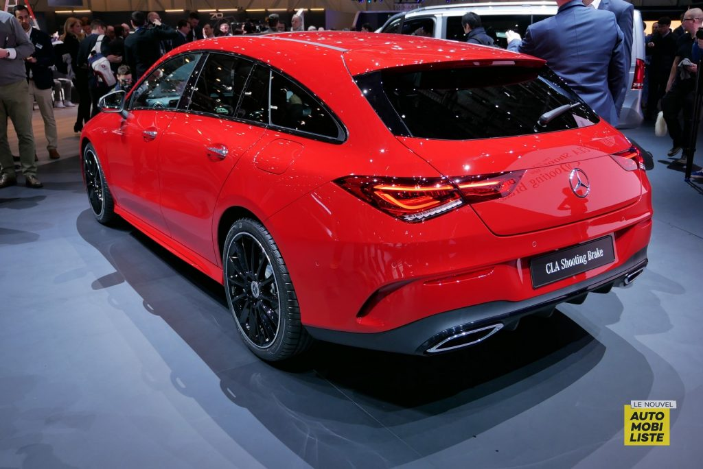 Mercedes Benz CLA Shooting Brake LNA GA Geneva 2019 6