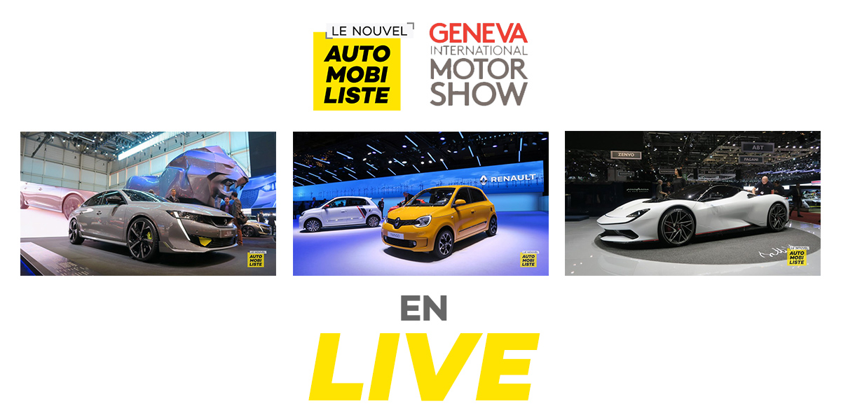 Salon de Genève 2019 Le Nouvel Automobiliste