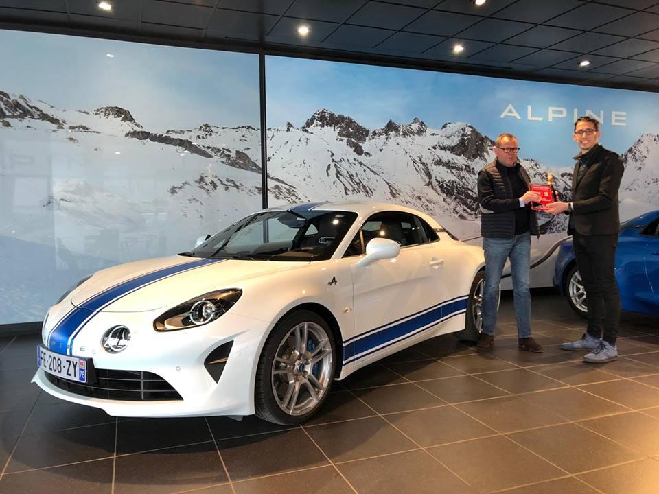 Alpine A110 Olympique Studio Alpine 2019