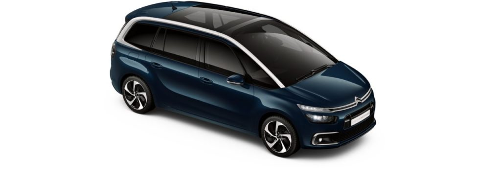 Citroën Grand C4 SpaceTourer Bleu Forêt