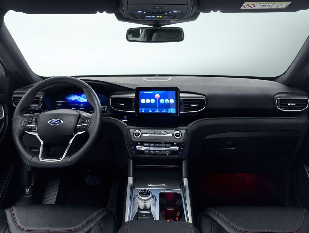 Ford Explorer Plug in Hybrid 09