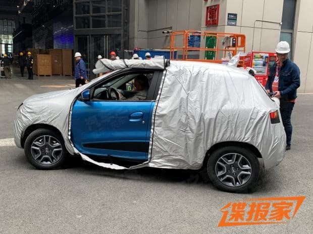 Renault K ZE Kwid electric China 2