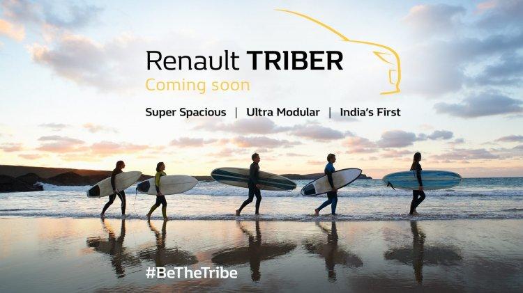 Renault Triber teaser 1