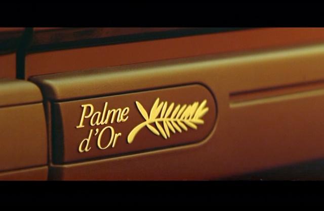 Safrane Palme dOr La Cite De La Peur logo