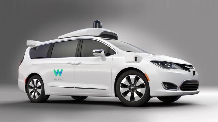 Chrysler Pacifica Waymo autonome