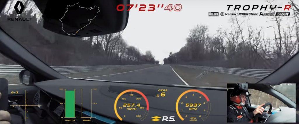Renault megane R.S. Trophy R