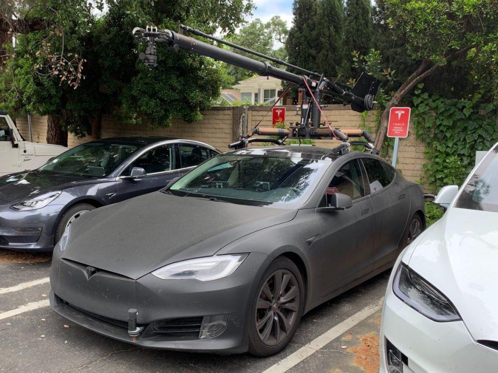Tesla Model S tournage video