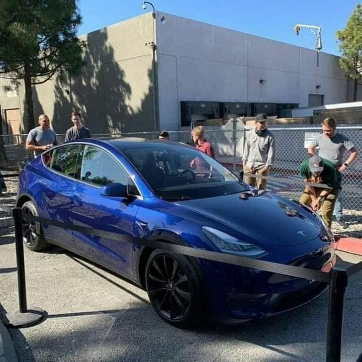 Tesla Model Y sortie publique 1