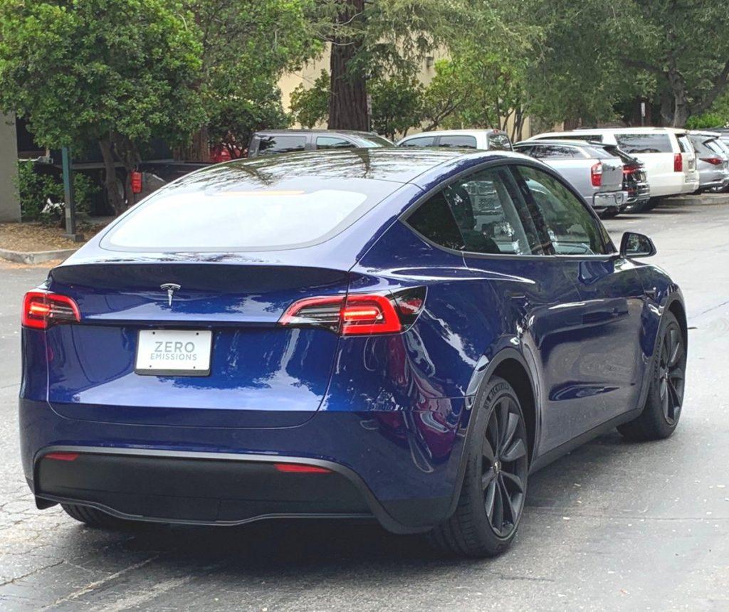 Tesla Model Y sortie publique