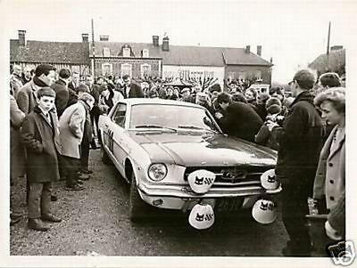 Ford Mustang Rallye Monte Carlo 1965 Anquetil Geminiani 1