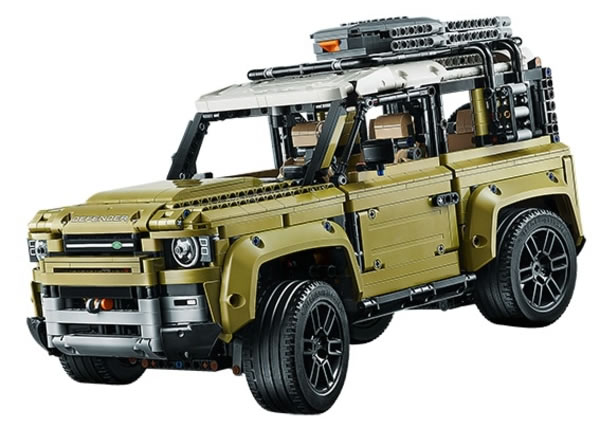 Defender, Land Rover Defender, Nouveau Defender, Lego, Lego Technics