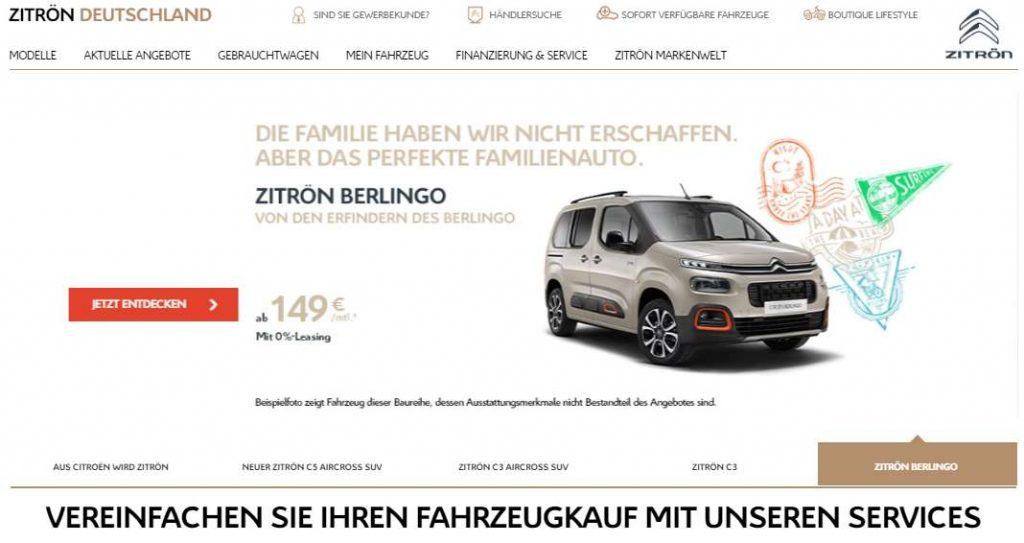 Citroën Zitrön
