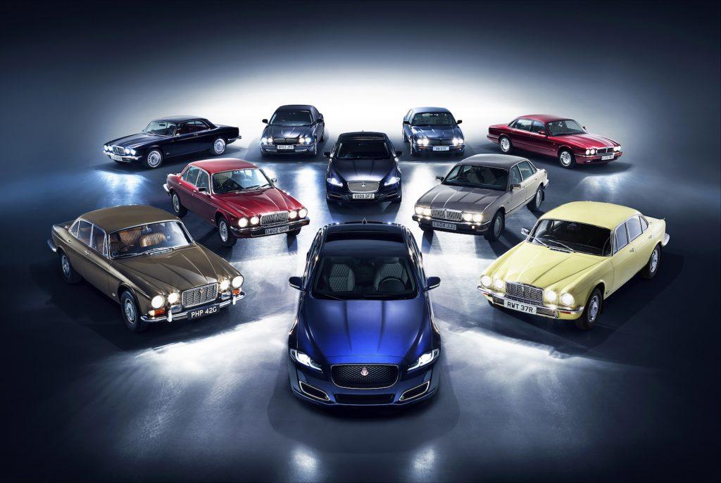 Jaguar XJ 50 ans LNA 2019