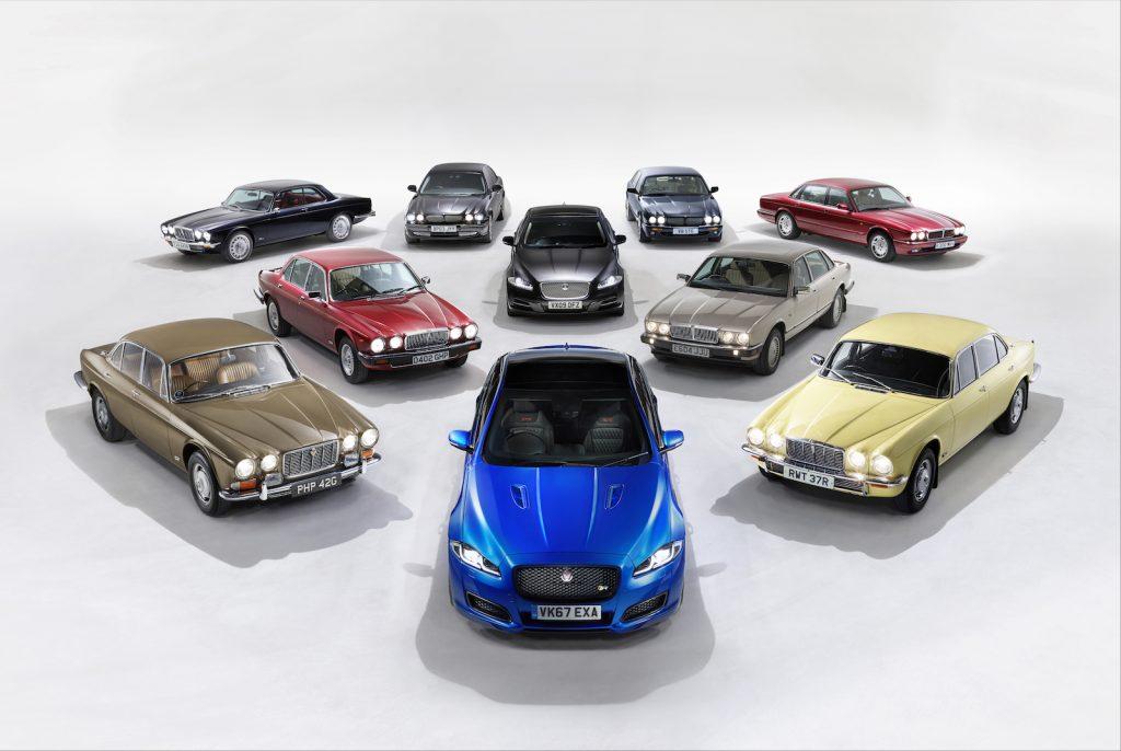 Jaguar XJ arret production 2019 LNA