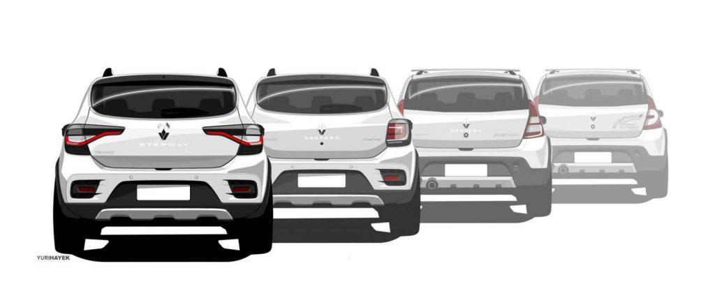 Renault Sandero Stepway Bresil 2019 9
