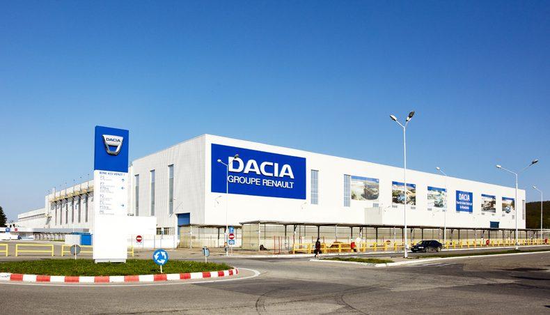usine Dacia Roumanie