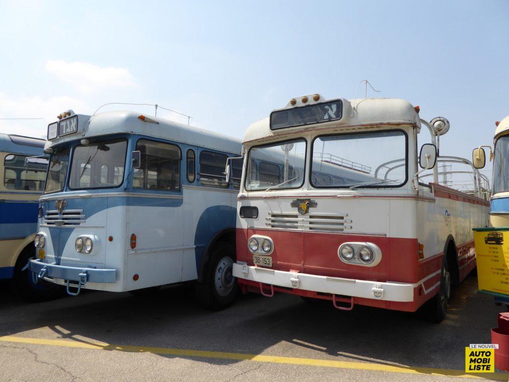 Egged Museum Bus Autocars Susita Holon Israël