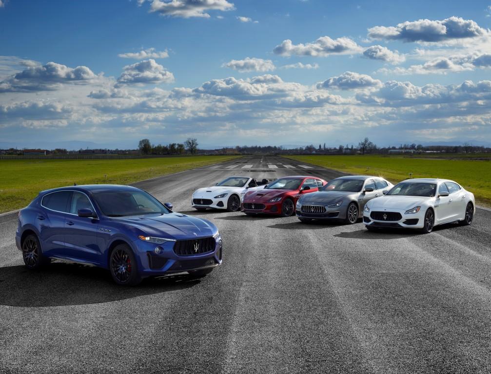 Gamme Maserati