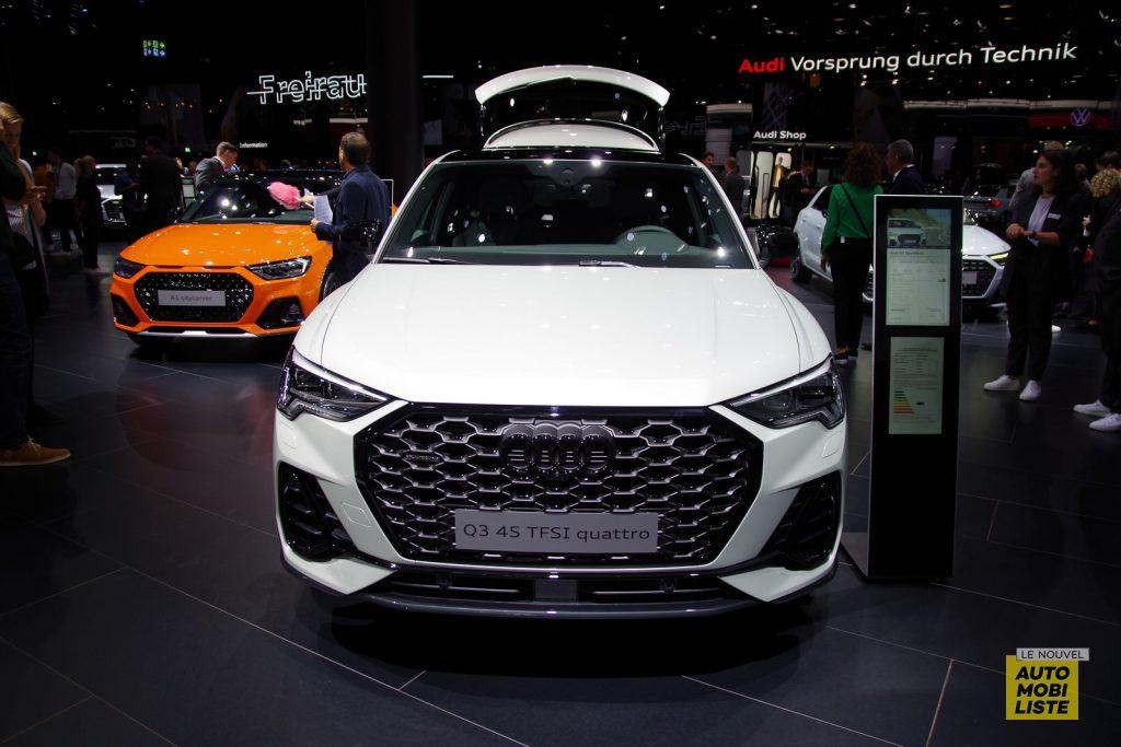 Francfort 2019 Audi Q3 Sportback LNA FM 21