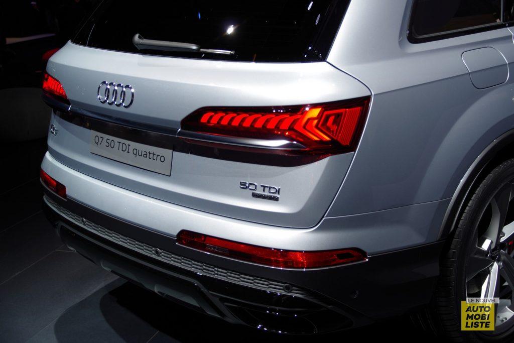 Francfort 2019 Audi Q7 restyle LNA FM 118