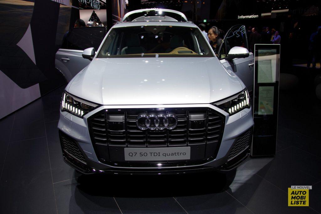 Francfort 2019 Audi Q7 restyle LNA FM 131