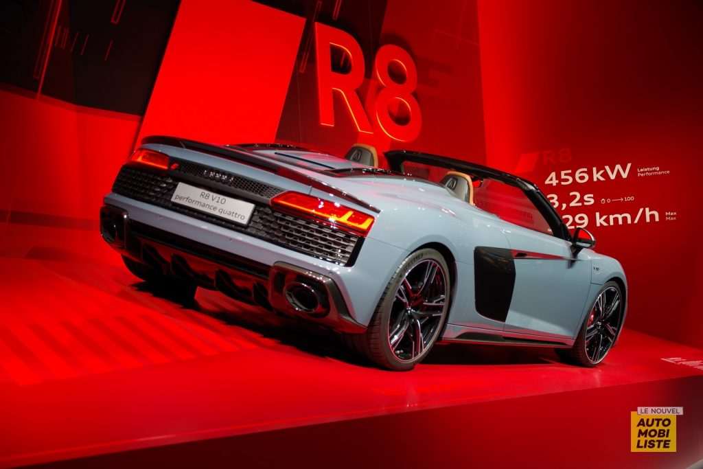 Francfort 2019 Audi R8 Spyder LNA FM 1