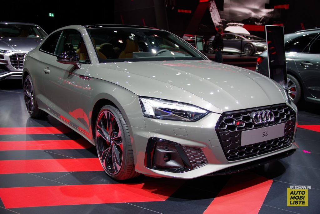 Francfort 2019 Audi S5 restyle LNA FM 3