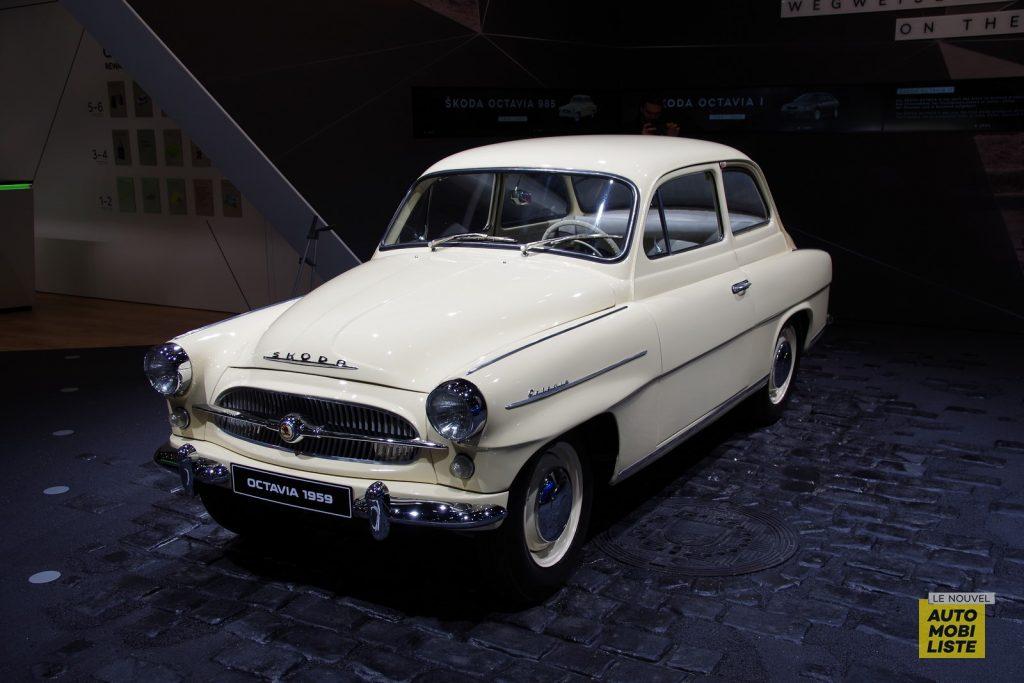 Francfort 2019 Skoda Octavia 1959 LNA FM 2