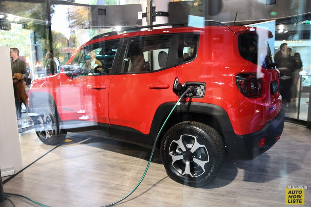 Jeep Renegade Hybride Rechargeable Jeep Renegade Plug-in Hybrid