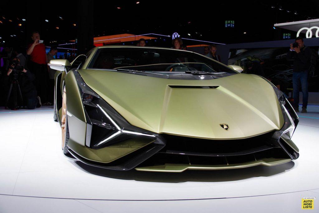 Lamborghini Sian Salon de Francfort 2019