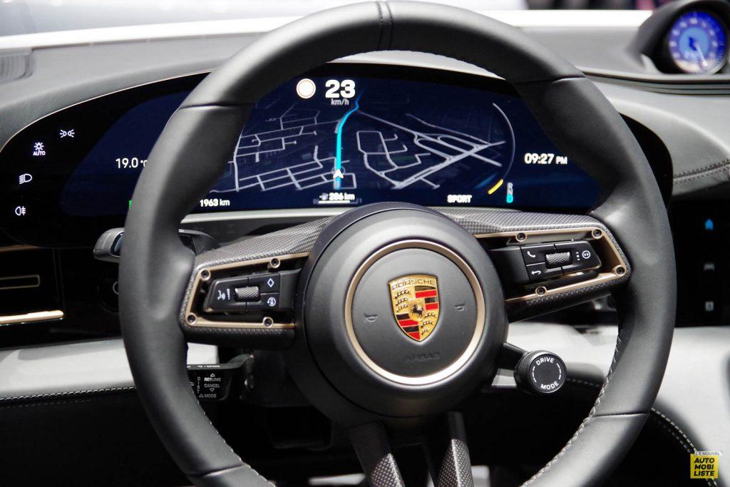 Porsche Taycan Salon de Francfort 2019