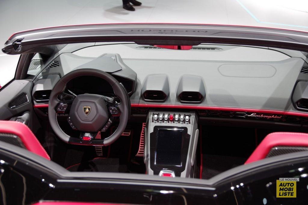 Lamborghini Huracan EVO Spyder Francfort 2019 LNA FM 1