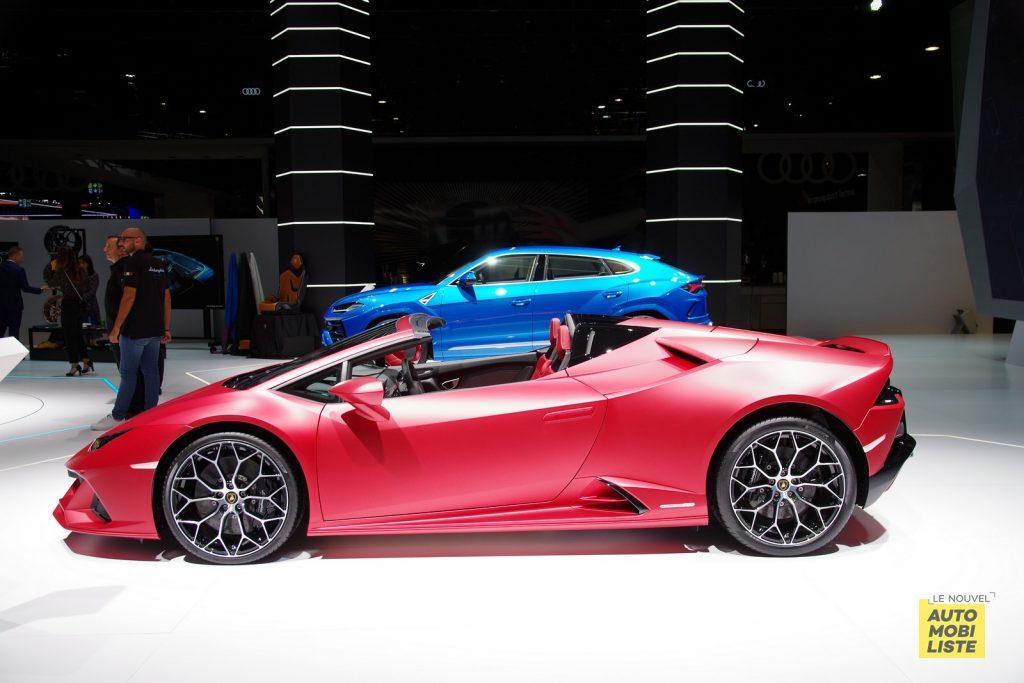 Lamborghini Huracan EVO Spyder Francfort 2019 LNA FM 2