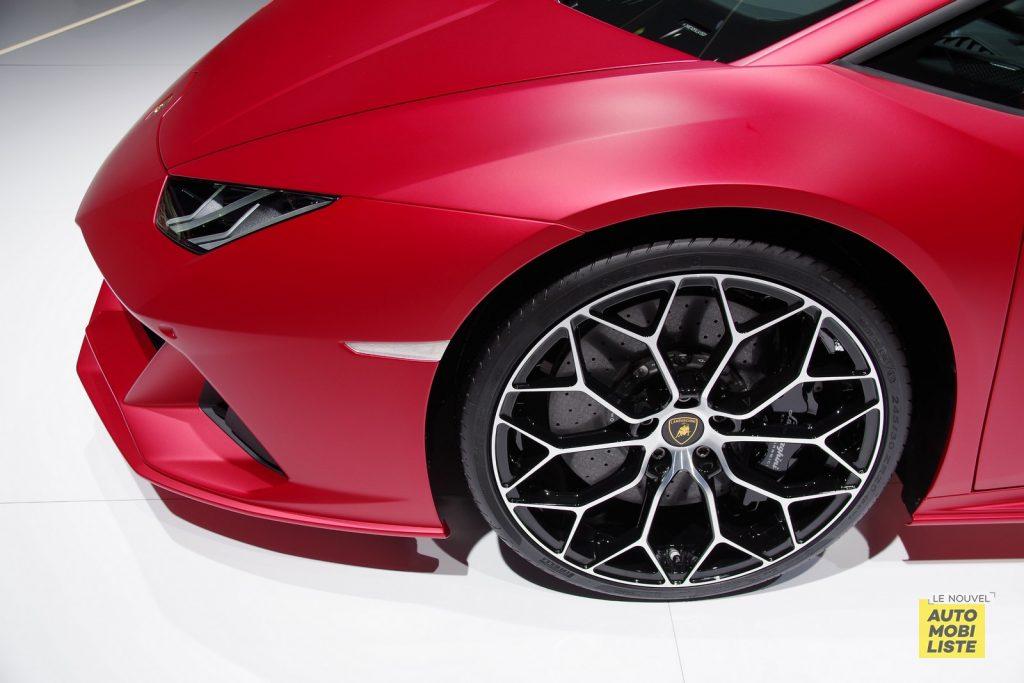 Lamborghini Huracan EVO Spyder Francfort 2019 LNA FM 4